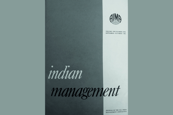 Management before the IIMs