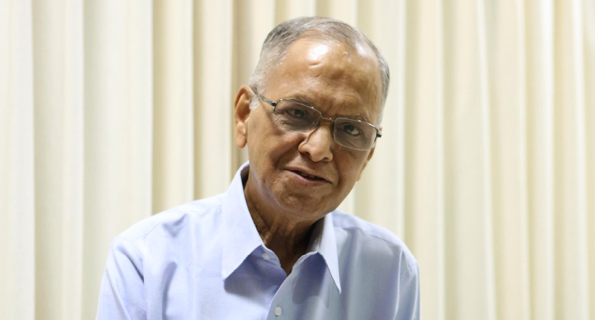 Narayana Murthy, IIMA Chief Systems Programmer (1969-71) and Board Chairperson (2002-07)