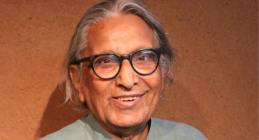 B V Doshi, IIMA Consulting Architect in the 1960s