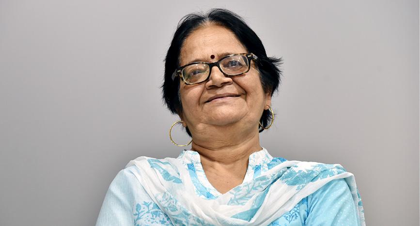 Kanchan Jansari, IIMA Administration (1977-2016)