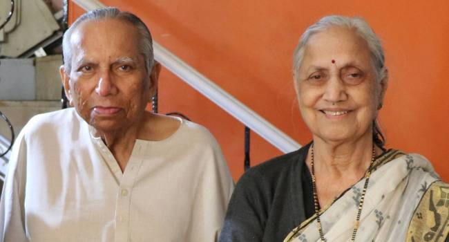 V L Mote, IIMA Faculty (1962-1993) and Snehalata Mote